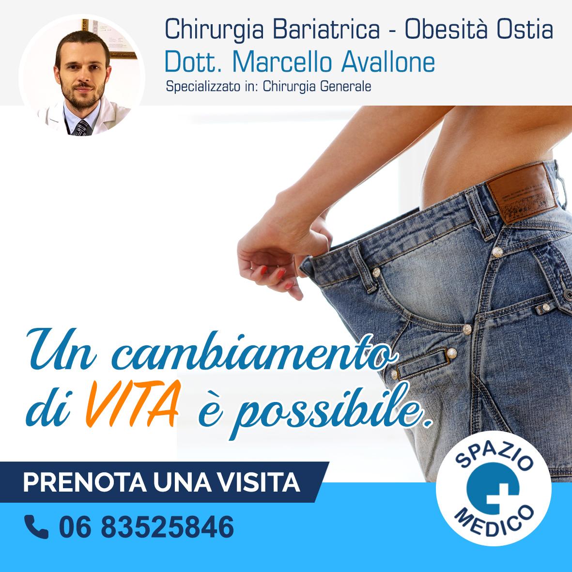 CHIRURGIA BARIATRICA CHIRURGIA DELL'OBESITÀ OSTIA