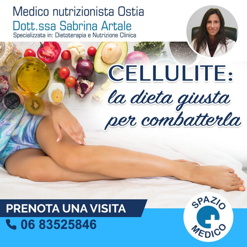 Cellulite: la dieta giusta per combatterla